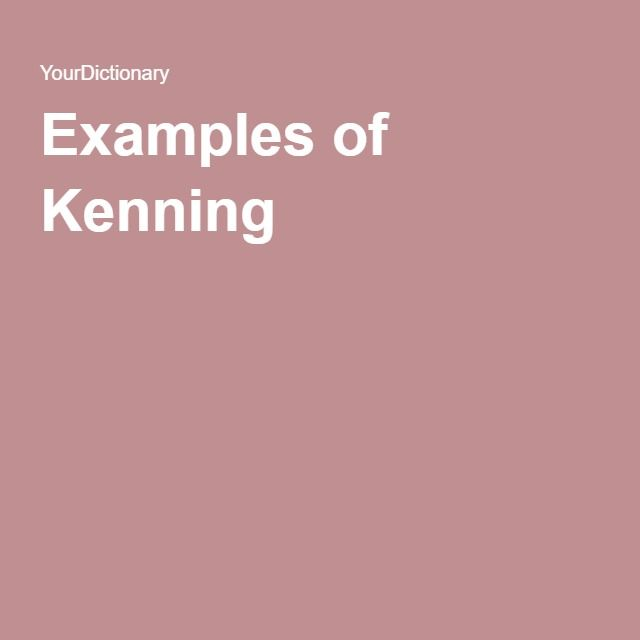 Examples Of Kenning Pinterest Creative Writing