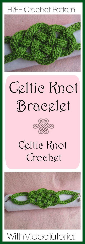 Celtic Knot Bracelet | Pinterest | Makramee halskette, Filzen und Häkeln