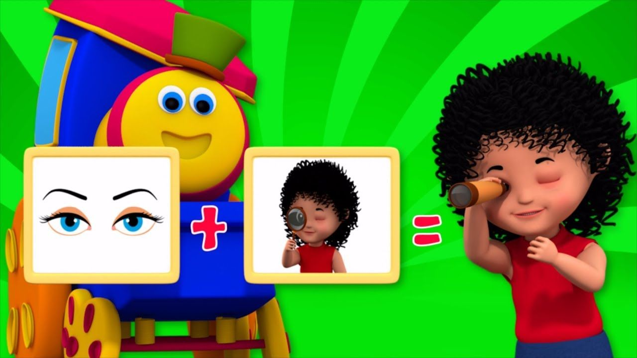 Color Song I Spy | Learning Street With Bob The Train | Word Play ...