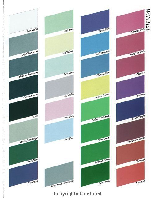 Your Makeup & Clothing Color Palette (With images) | Skin ...