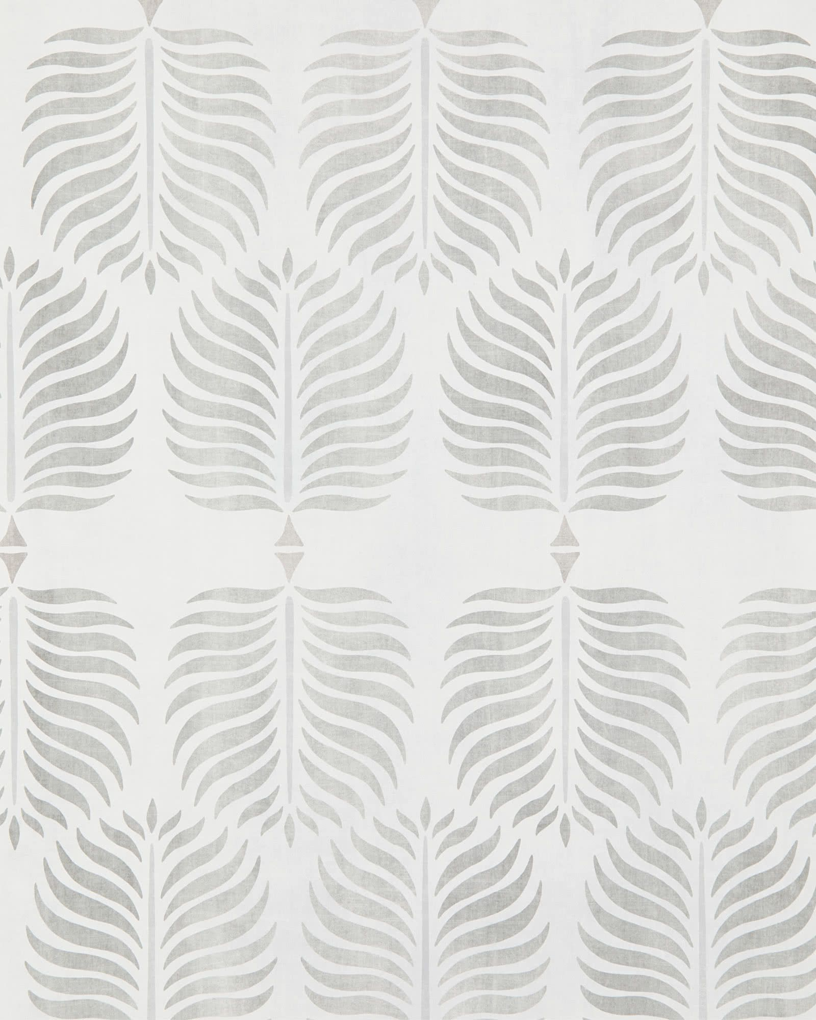 Granada Wallpaper Serena And Lily Wallpaper Grey And White Wallpaper Wallpapered Entryway