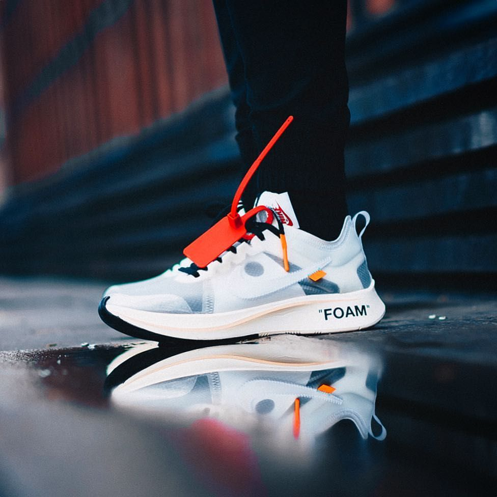 OFF WHITE x Nike Zoom Fly fashion Pinterest Chaussure