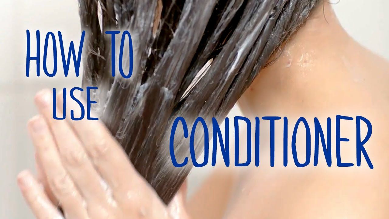 How To Use Conditioner After Shampoo Healthy Hair Tips How To Apply Conditioner Q Hair Healthy Hair Tips