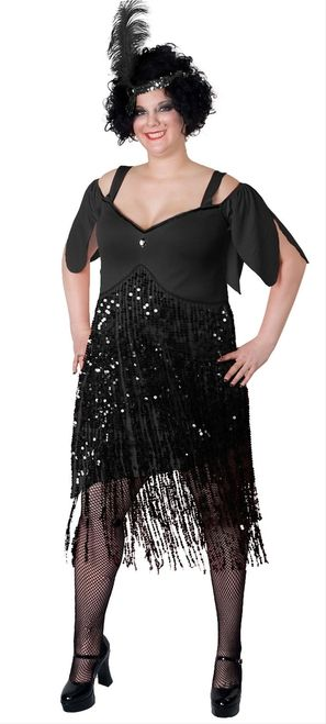 Sunnywood Womens Plus-Size Lava Diva Flapper