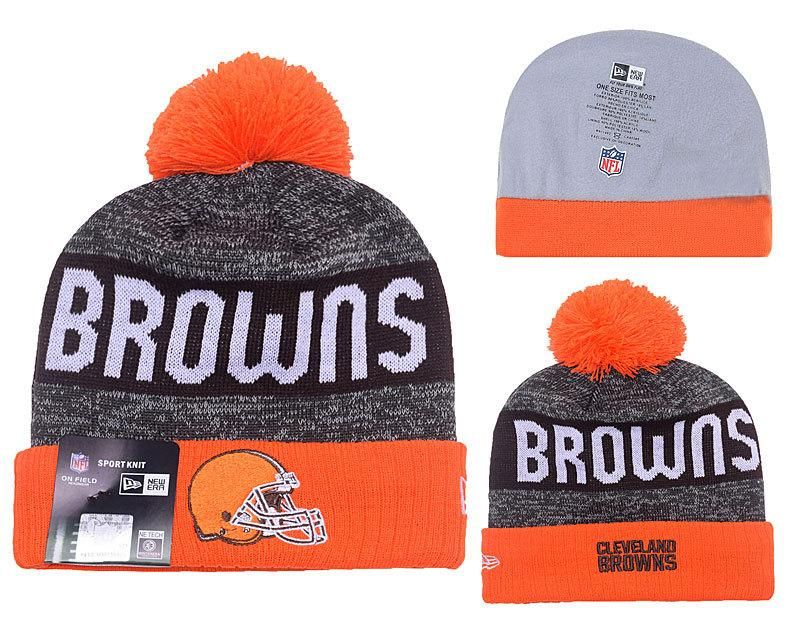 8e58781cd ireland cleveland browns sideline knit hat 66f1c 9c77a