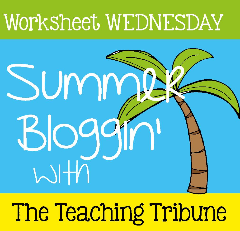 The Teaching Tribune:Worksheet Wednesday | 2nd grade | Pinterest ...