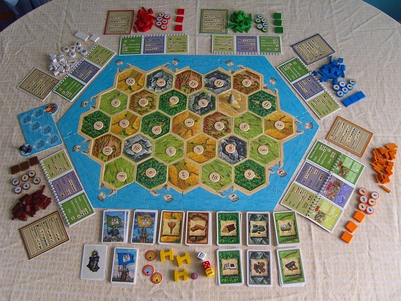 The Settlers of Catan Cities & Knights expansion 56