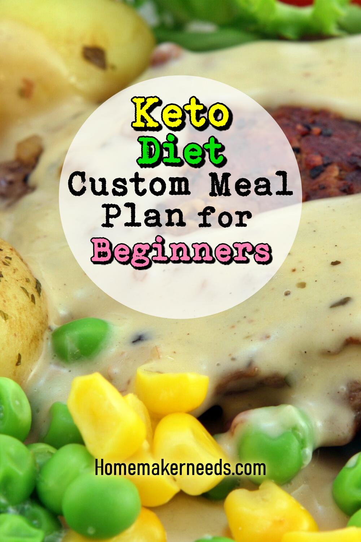 Keto Diet Custom Meal Plan For Beginners Keto Diet Meal Plan Keto Diet Benefits Keto Diet Recipes