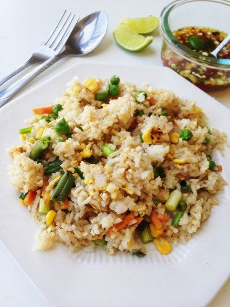Thai Stir Fried Rice Recipe Khaw Pad Gai Thai Foodie Recipe Fried Rice Stir Fried Rice Recipe Rice Recipes