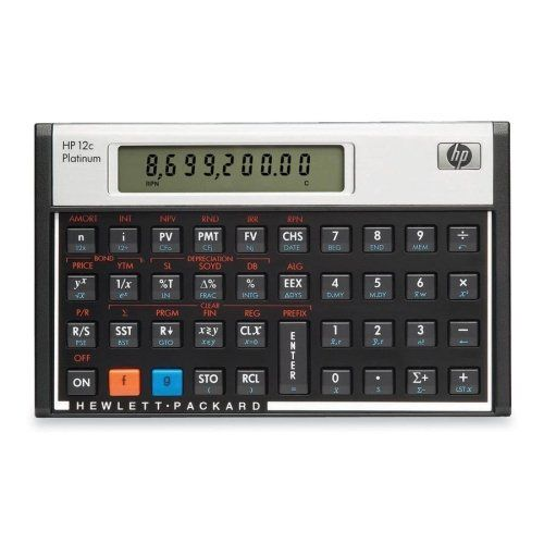 Wholesale Case Of   Hp C Platinum Financial Calculator