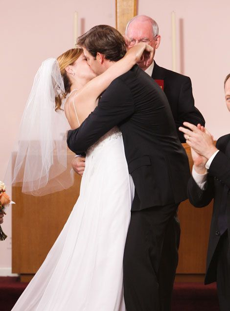 The Office Photo Jim And Pam Wedding Photos Jim And Pam Wedding The Office Jim Pam The Office