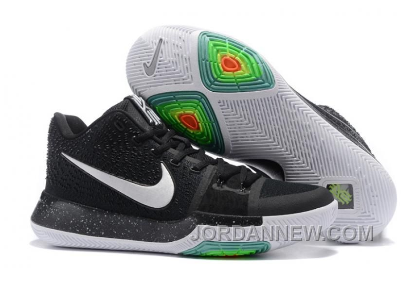 new arrival da4ef 7831a Find Nike Kyrie 3 Mens BasketBall Shoes Black White Top Deals online or in  pumacreepers. Shop Top Brands and the latest styles Nike Kyrie 3 Mens  BasketBall ...