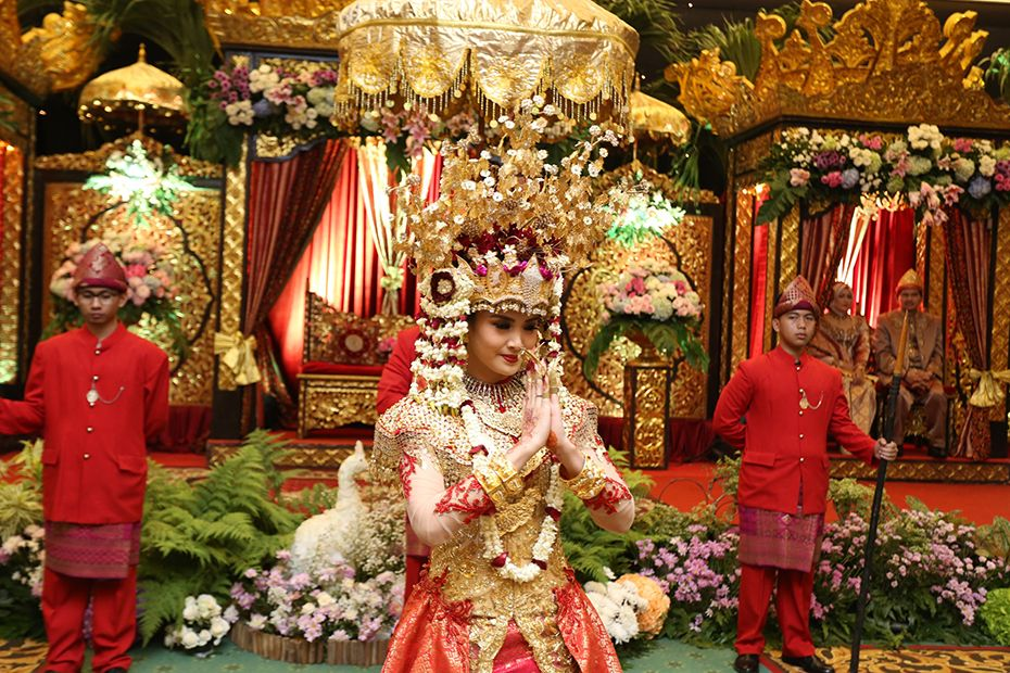 Palembang traditional wedding anniversary