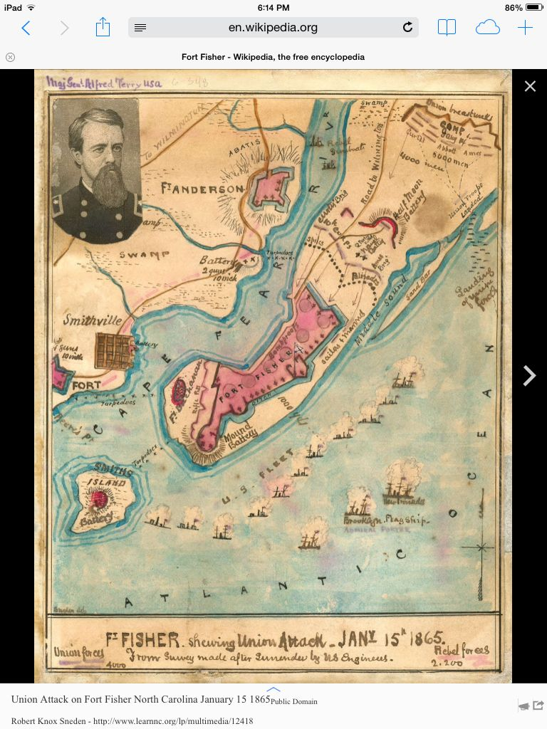 Old map of nc coast Old map
