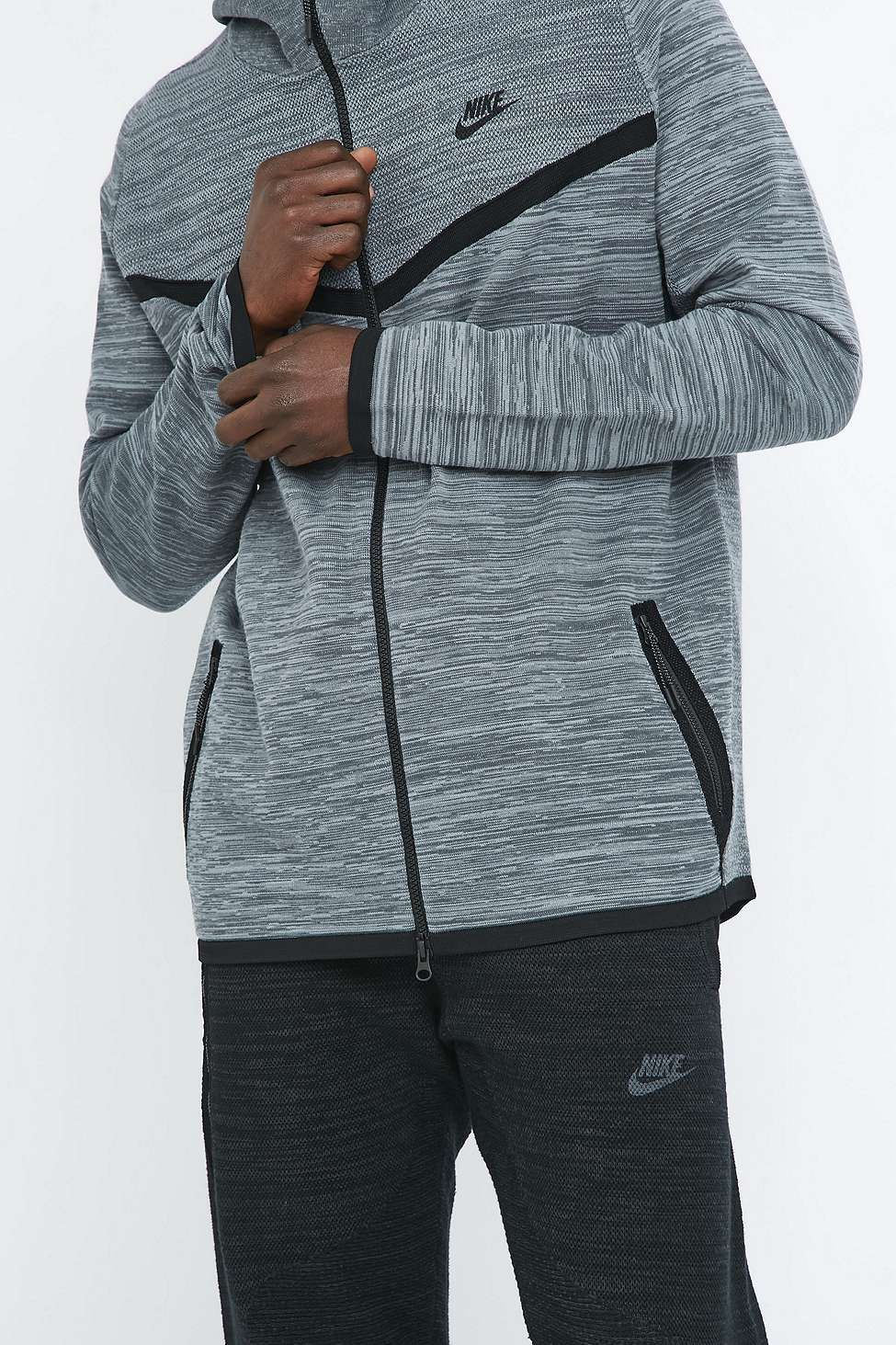 Nike Tech Knit Grey Windrunner Hoodie