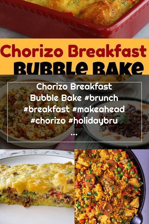 Chorizo Breakfast Bubble Bake #brunch #breakfast #makeahead #chorizo #holidaybrunchrecipes #christmas #easter #casseroles #recipes #food #cheesy #newyearseve