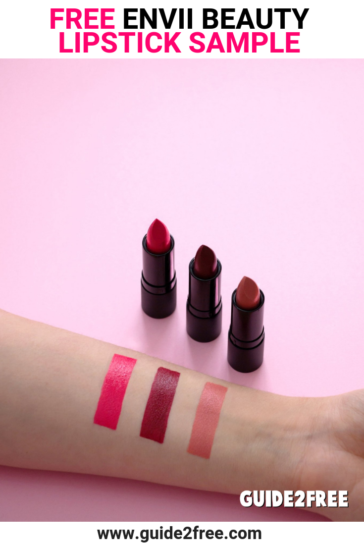 Free lipstick samples by mail 2018