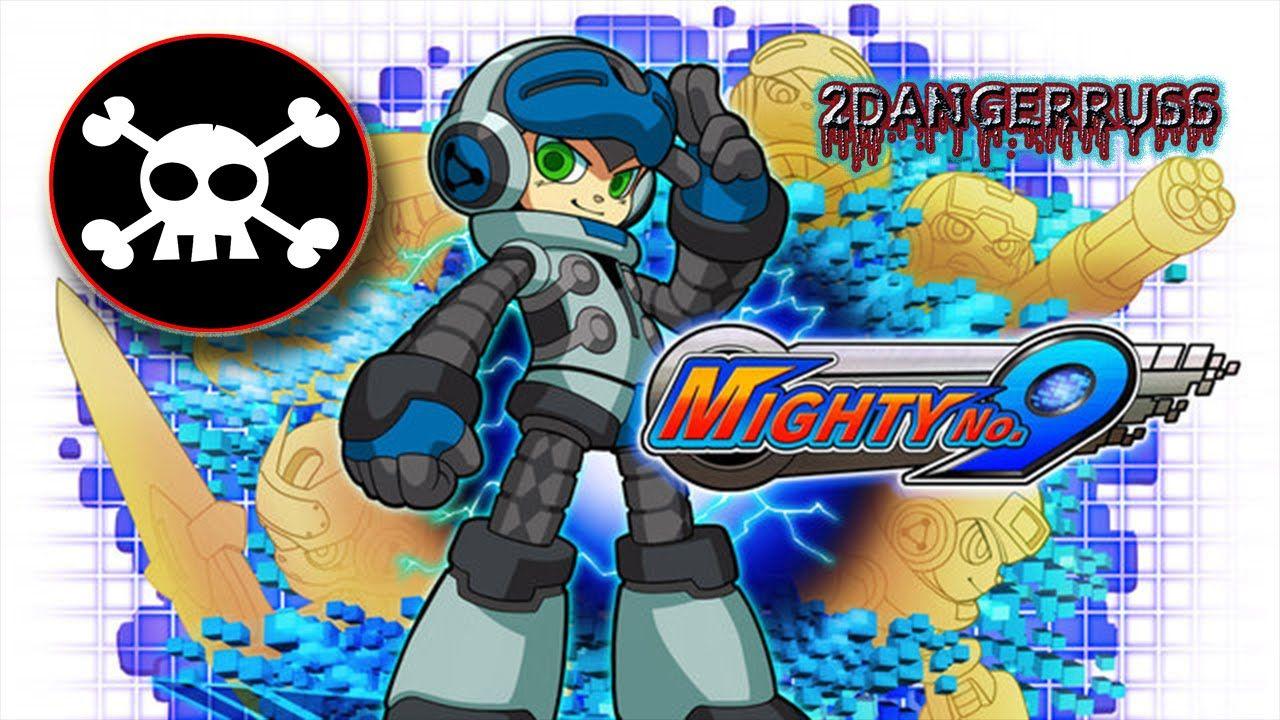 Anime robot side scrolling platform shooter mega man