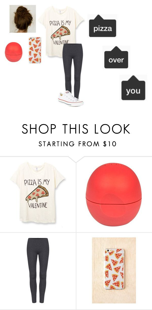 """""""PIZZA"""" by mylifeasaunicorn ❤ liked on Polyvore featuring River Island, Converse, YES, pizza and theunicornlife"""