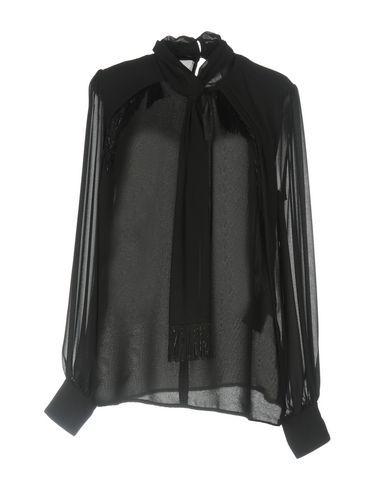 ATOS LOMBARDINI Women's Blouse Black 10 US
