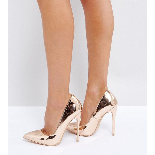 Lost Ink TYE SLINGBACK STILETTO - High heels - rose gold wsazNQKa