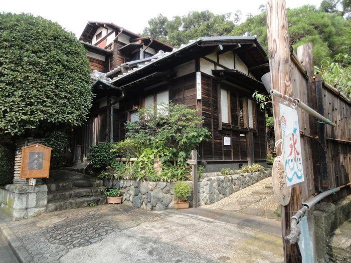 自由が丘・古桑庵(こそうあん) カフェ    まるで京都のような素朴で歴史ある古民家。