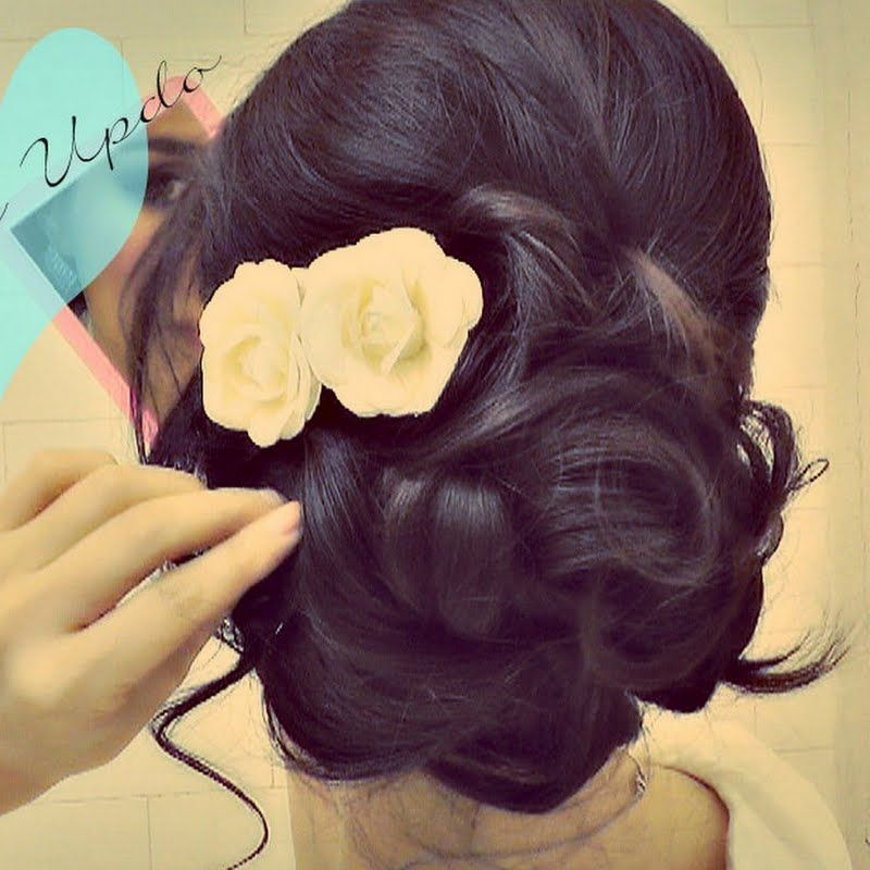 Easy Diy Wedding Hairstyles: How-To: Prom & Wedding Hairstyles Tutorial By Tina L