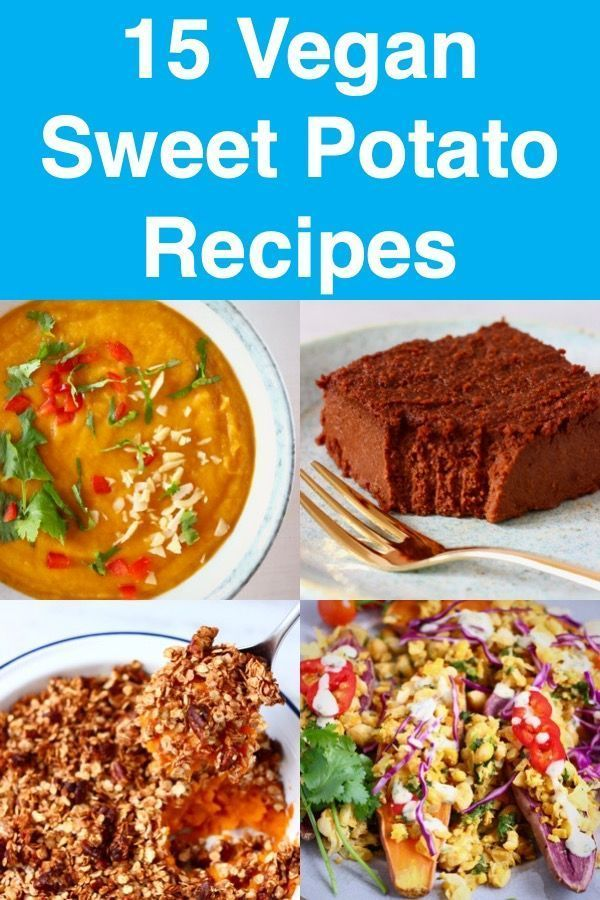 Sweet Potato Recipes - a mix of mains, side dishes, desserts and drinks! All gluten-free, refined sugar free, dairy-free and vegetarian.