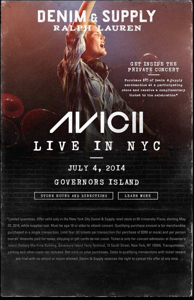 See Avicii Live In Nyc On July 4th Stuff To Buy Pinterest