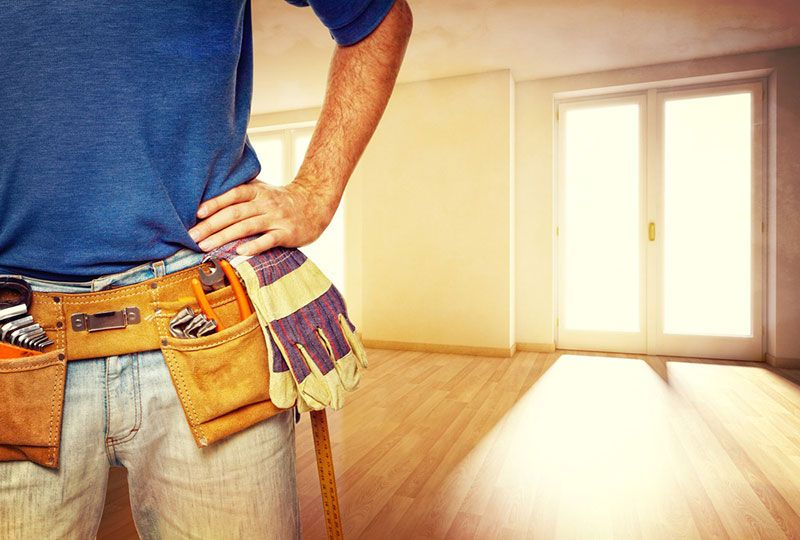 A handyman can help you with a bunch of different things