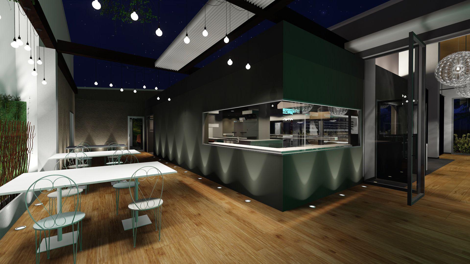 Creación de la identidad visual y el diseño de interiores para un restaurante en Valencia. Diseñado en 2014 por MSE Project