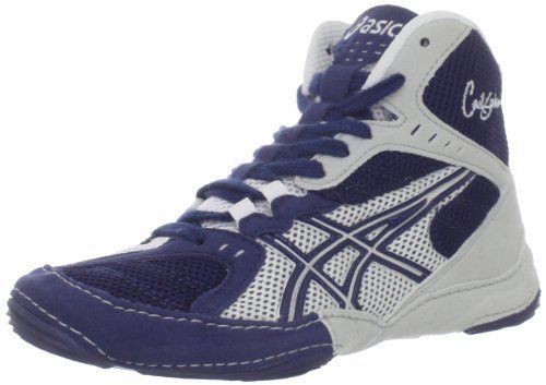 Asics Cael V5 0 Gs Wrestling Shoe Little Kid Big Kid Navy Silver