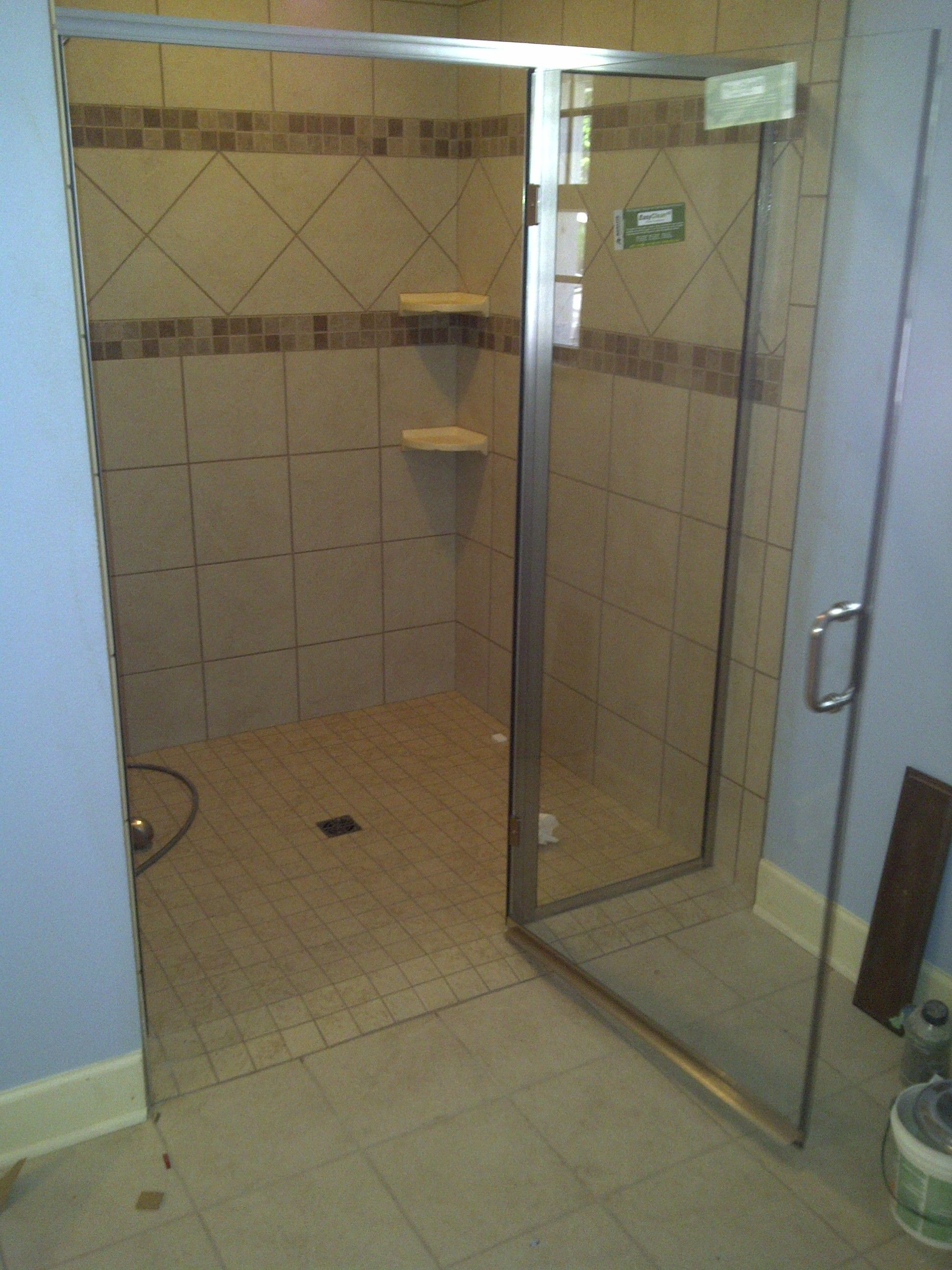 No Threshold Shower Enclosures Handicap 36 Door With