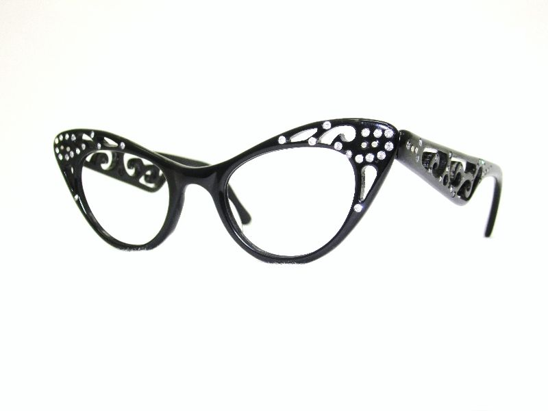 Ladies Rhinestone Zyl #Vintage #Antique #Eyeglasses #fashion #style ...