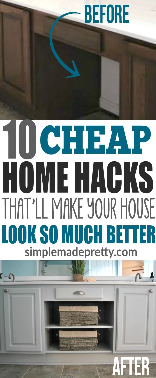 Home Hacks That\'ll Make Your Home Look So Much Better! | Pinterest ...