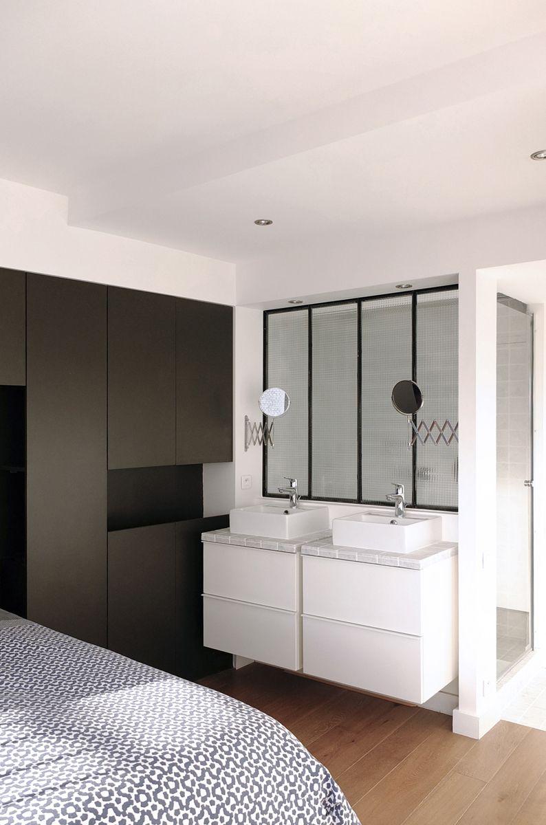 r novation appartement paris 14 salle de bains chambres pinterest paris 14 r novation. Black Bedroom Furniture Sets. Home Design Ideas