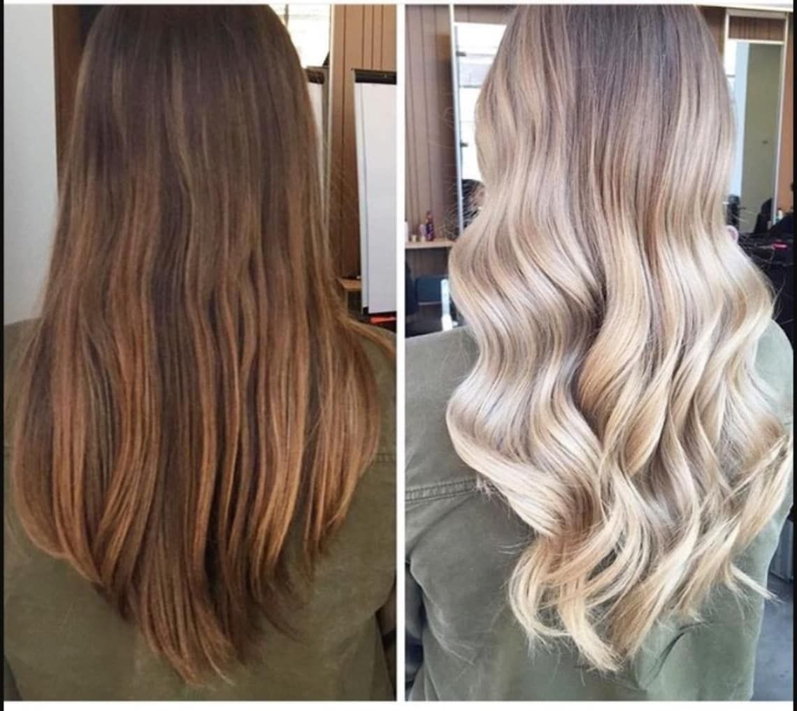 How To Go From Dark Brown To Blonde With Minimal Damage Brown