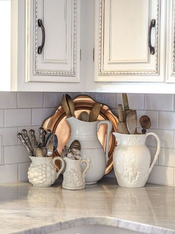 Photo of 52 Simple French Country Kitchen Decor Ideas