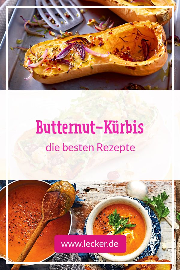 Photo of Top 5 Butternut-Rezepte
