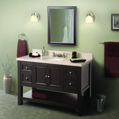 Foremost International Gazette 48 Inch Vanity Home Depot Canada Granite Vanity Tops Vanity Vanity Top