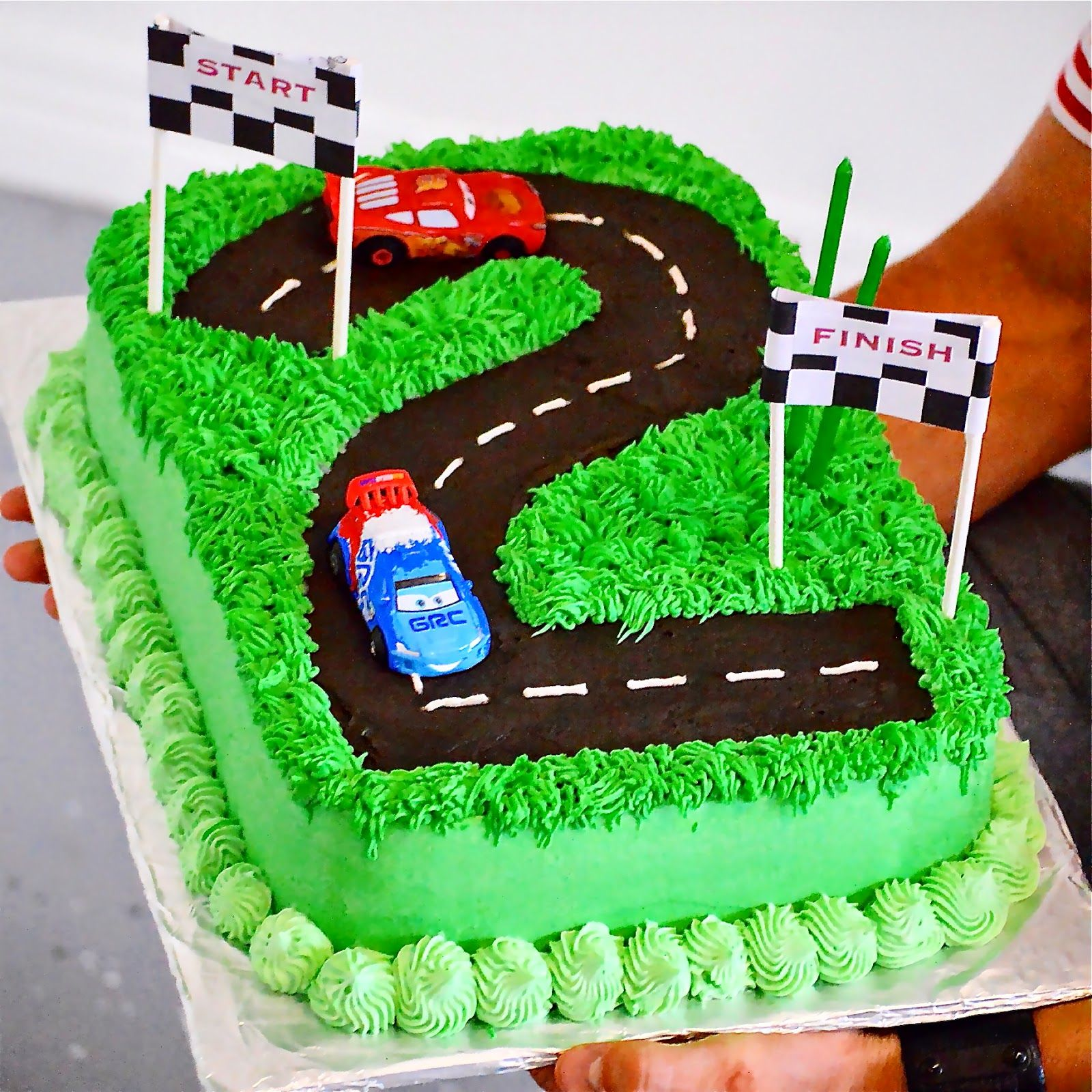 The Celebration Of Our Favorite 2 Year Old Cars Birthday Cake
