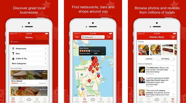 Yelp App Now Lets You Post Video Reviews Online web