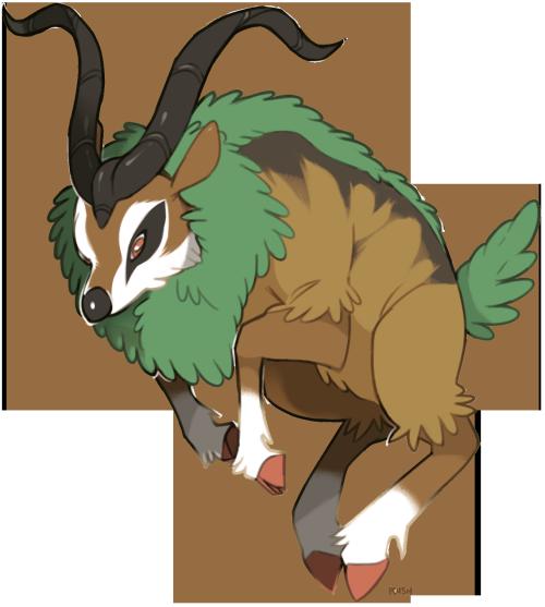 Gogoat | Pokémon | Pokemon tumblr, Pokemon personalities ...  Gogoat
