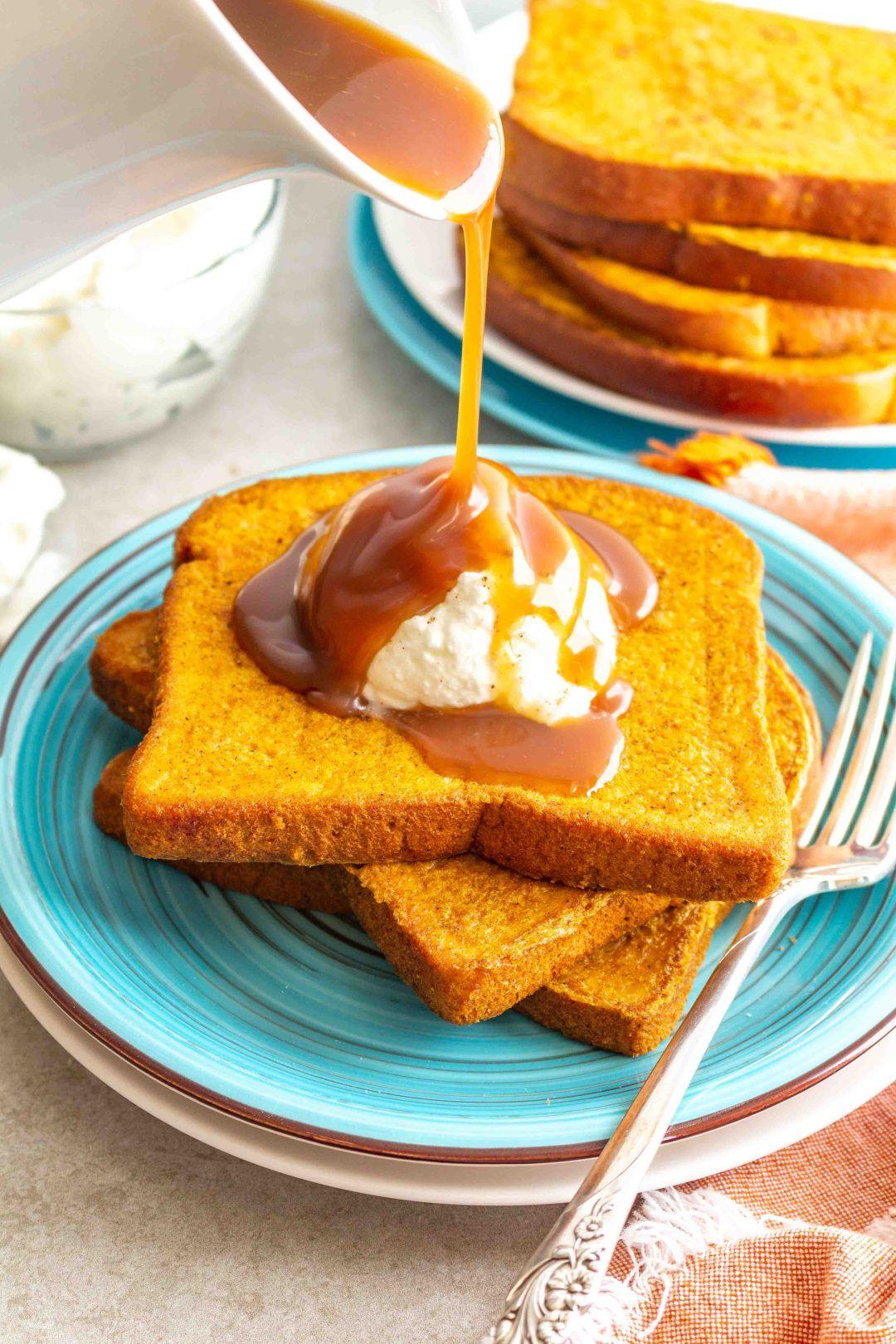 Pumpkin Pie French Toast Gluten Free Dairy Free Dairy Free