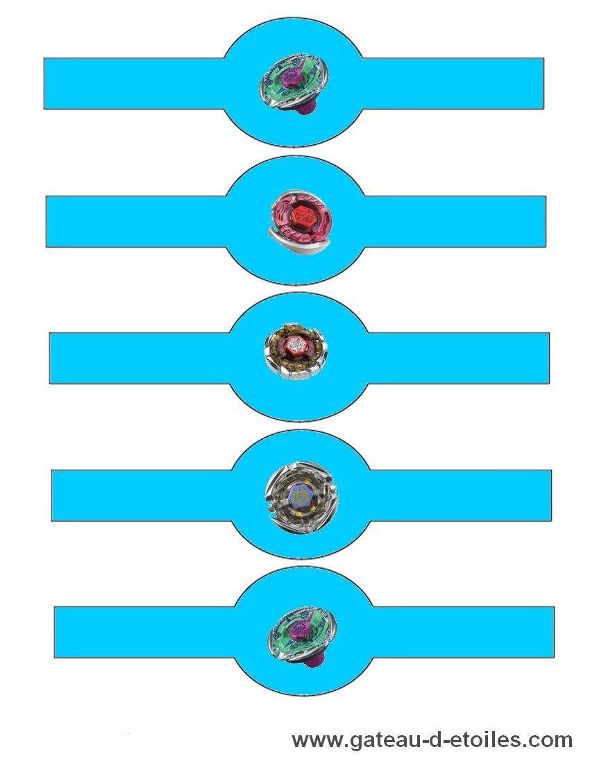 marque+serviette+Beyblade+2.jpg (850×1100) | anniversaire beyblade ...