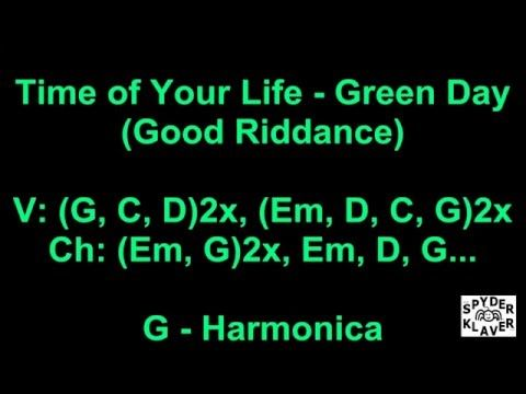 Good Riddance (Time Of Your Life) - Green Day - Lyrics - Chords ...