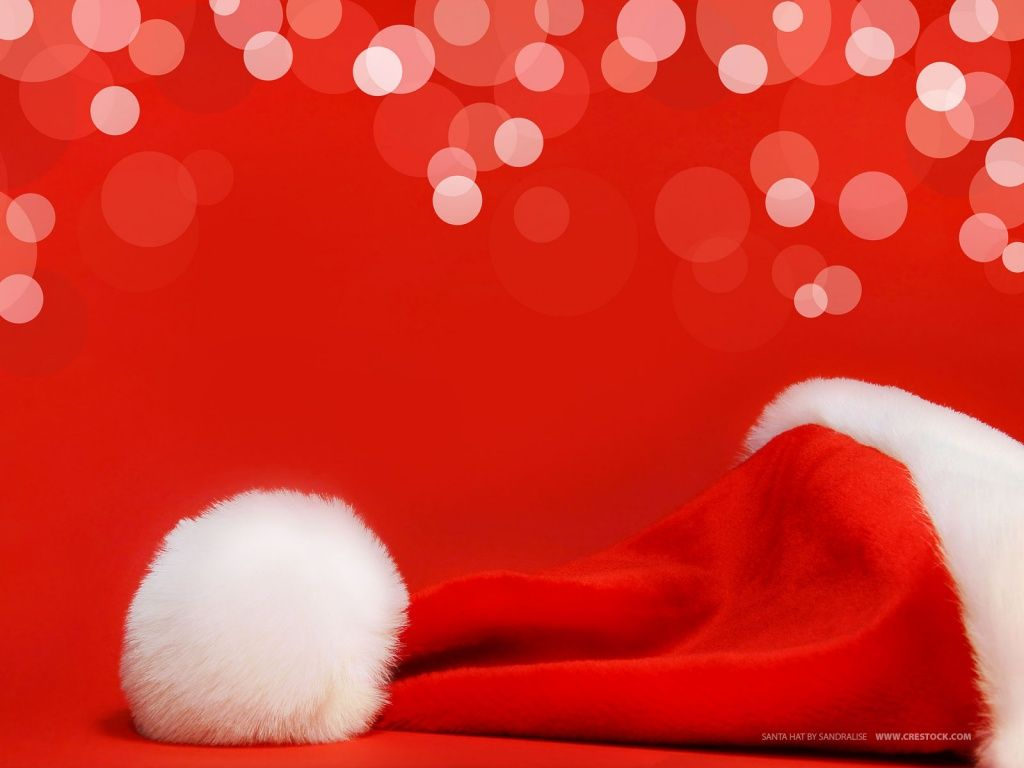 Free Christmas Wallpapers And Powerpoint Backgrounds Pictures Red