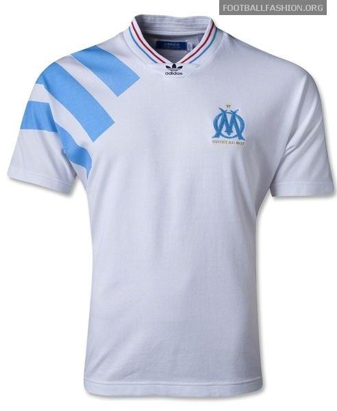 cheap for discount 5eabf 68e97 Olympique Marseille 1992/93 adidas Originals Retro Jersey ...