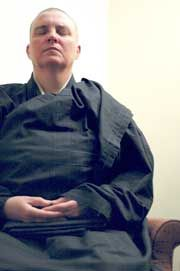 US Midwest   Monk helps Athens discover Zen