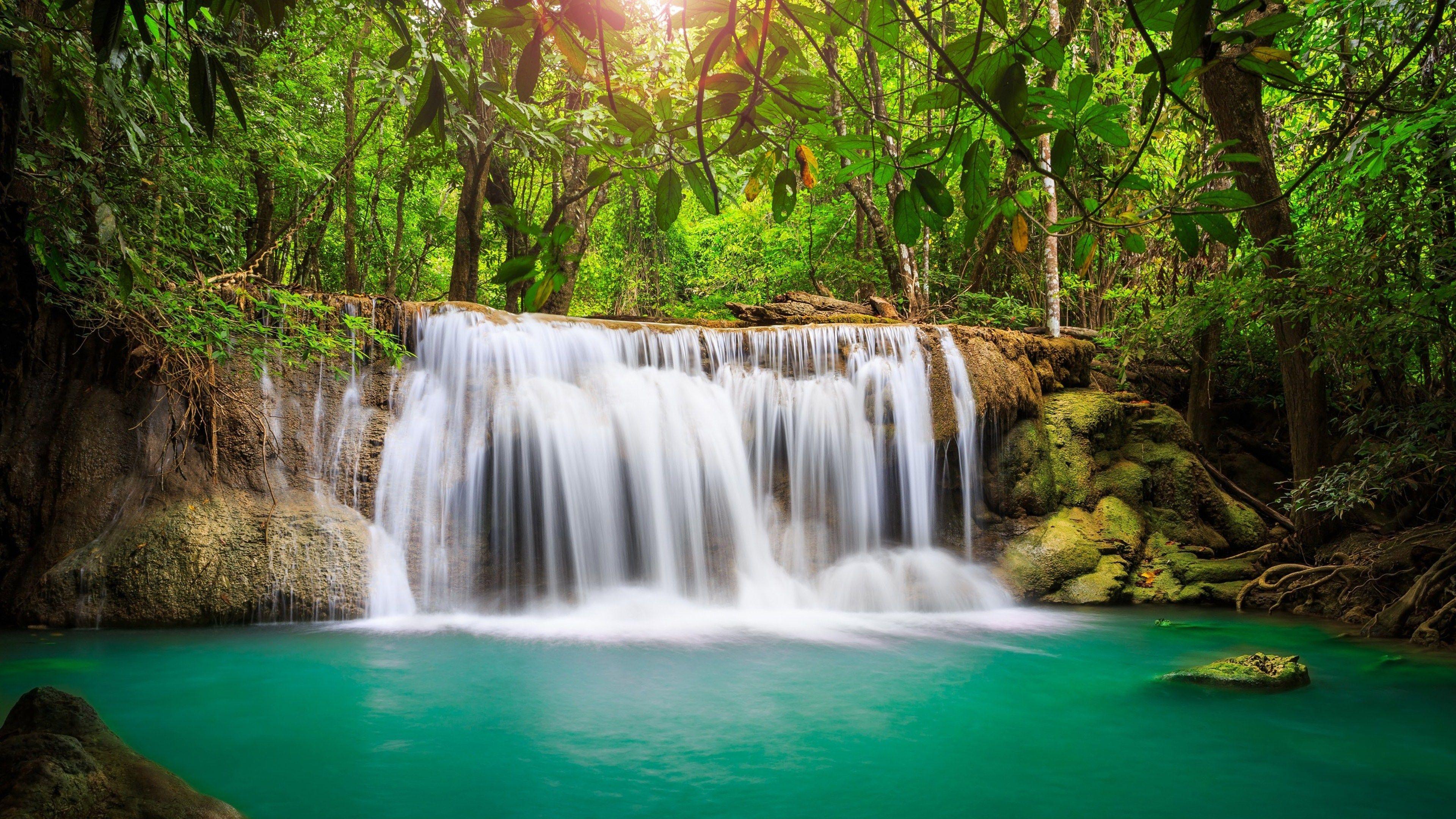 Waterfall #4K Wallpaper (3840X2160)